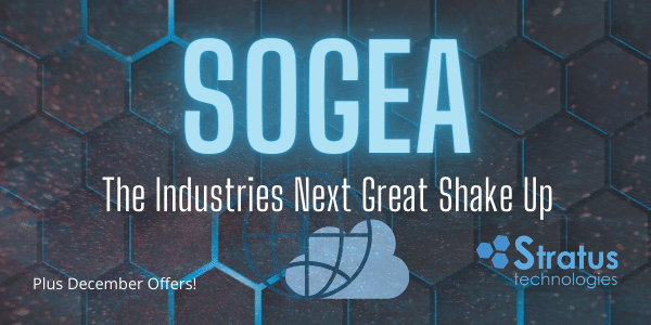 SoGEA: The Industries Next Great Shake Up